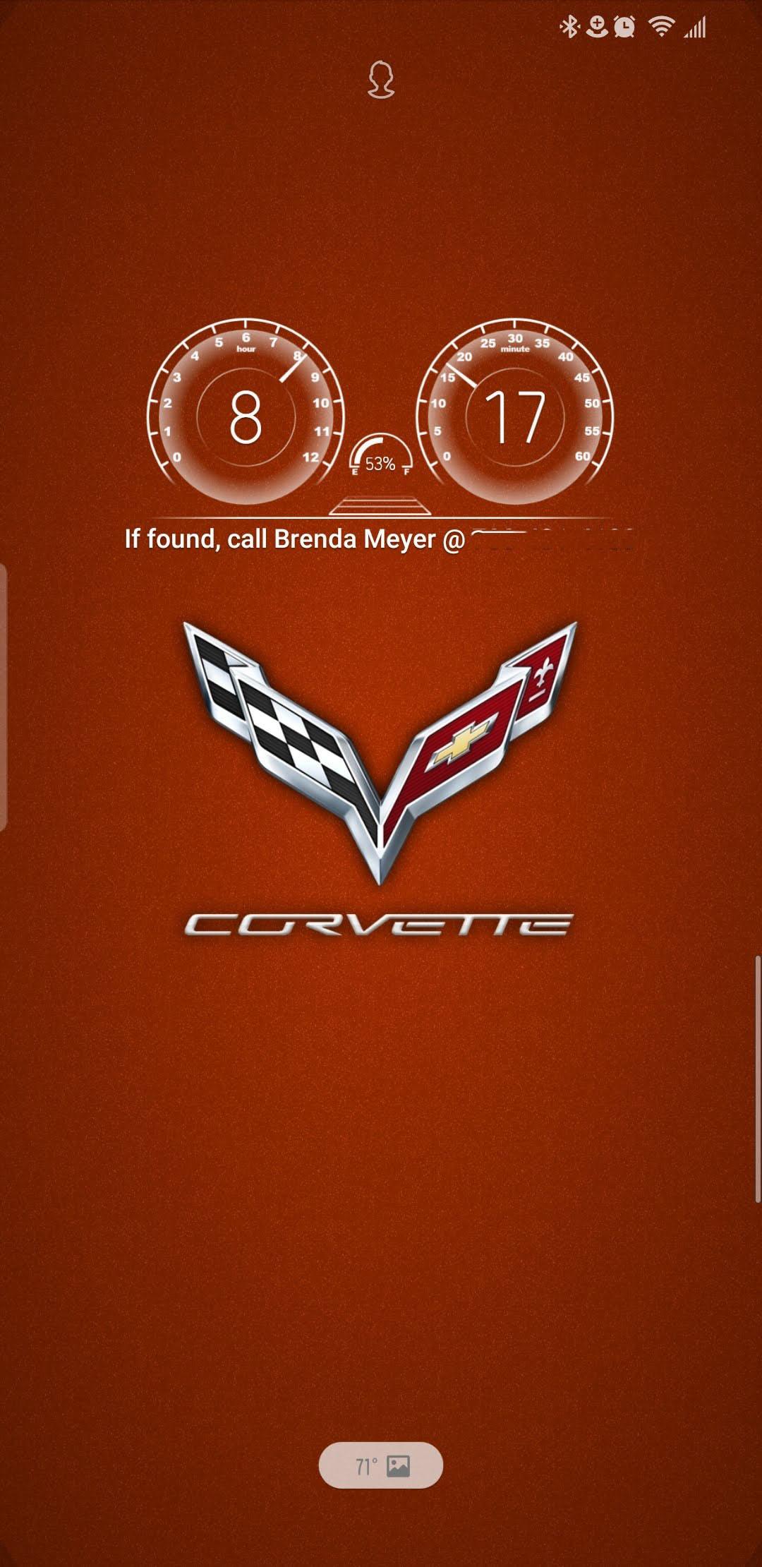 Corvette Phone Wallpaper Midenginecorvetteforumcom