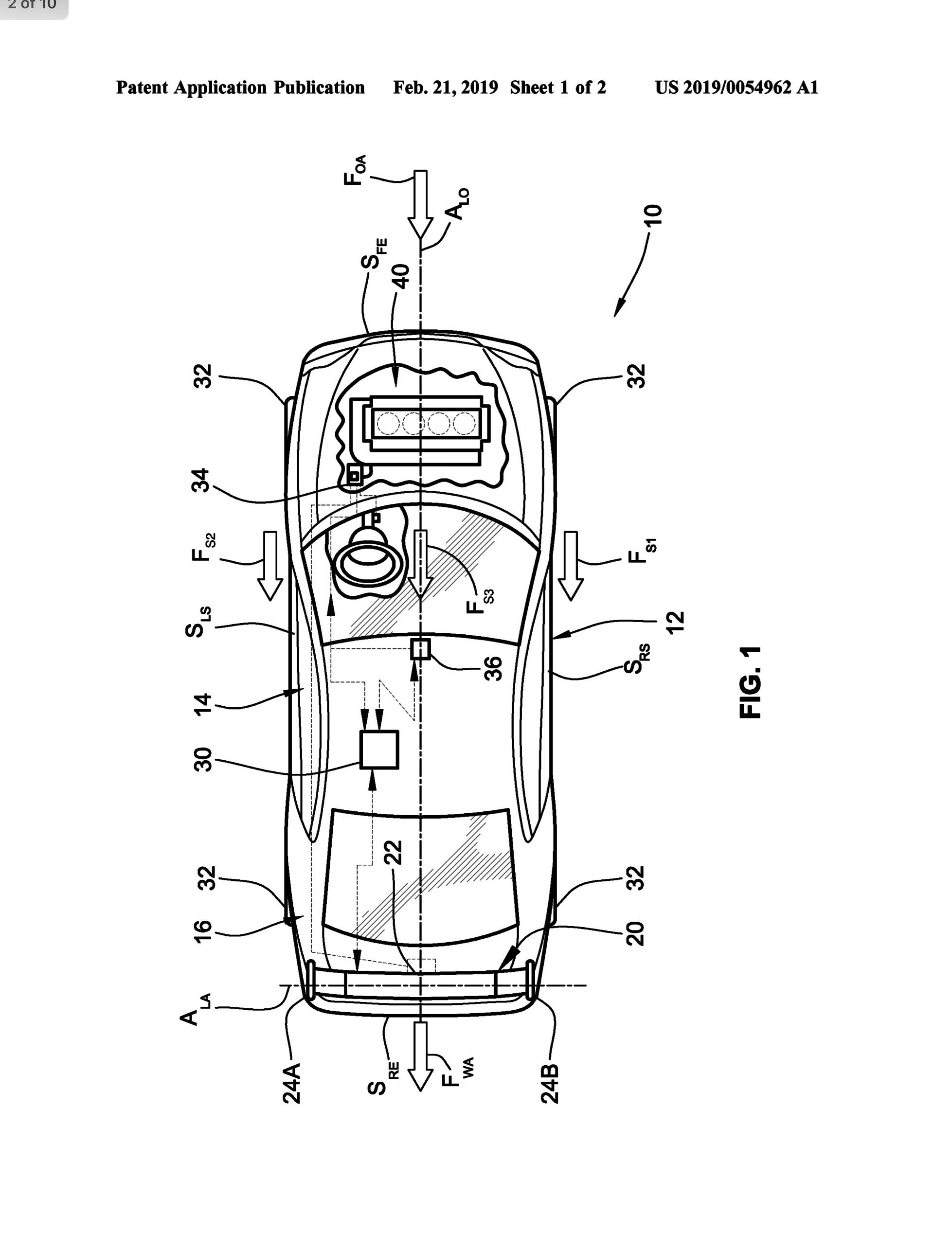 Patent: C8's Variable Width Spoiler