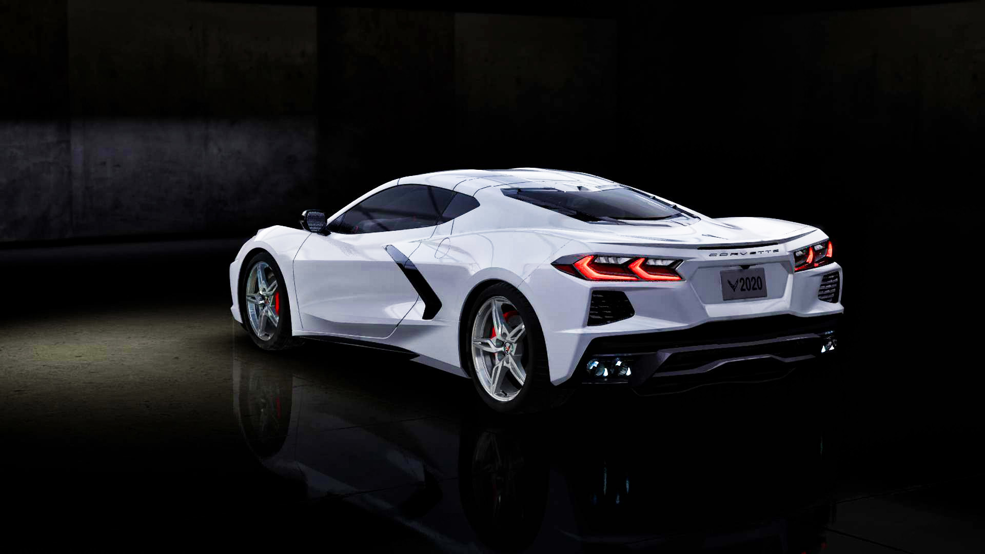 White Corvette Stingray >> C8 Exterior Color: Arctic White - MidEngineCorvetteForum.com
