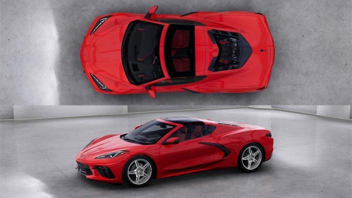 No Body Color Sides On 2020 Corvette Transparent Roof Panel Midenginecorvetteforum Com