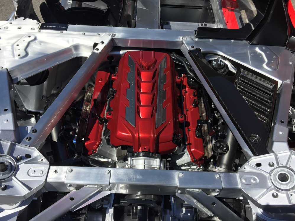 c8 engine cover pictures