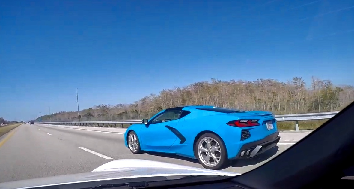 Video Rapid Blue 2020 Corvette Coupe In Naples Fl